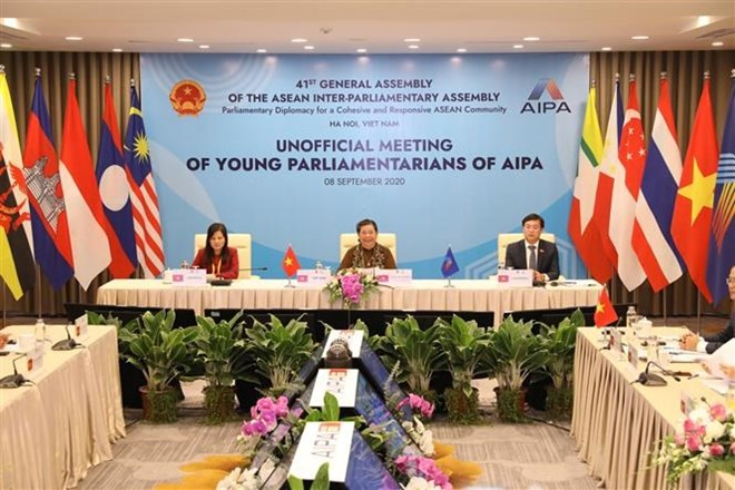 Meeting of young mps
